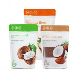 Coconut Classics - Coconut Flour, Coconut Sugar & Coconut Milk Powder