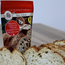 4 New Italian - Gluten Free Artisan Sourdough Bread Mixes