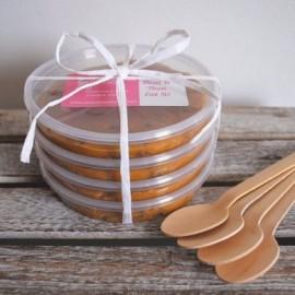 Microwavable Warm Chocolate Chip Cookie Dough Pots (4 Pots)