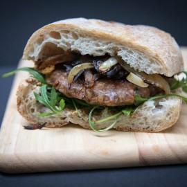Fragrante vegan meat burger