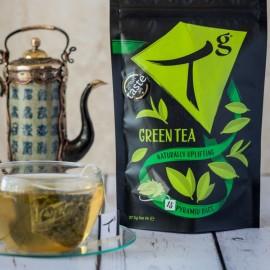Tg Organic Green Tea pouch (15 tea bags)