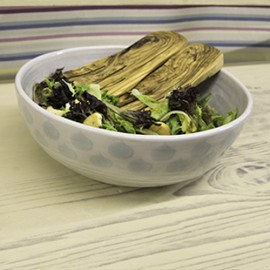 Olive Wood Salad Hands