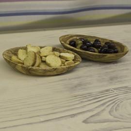 Olive Wood Oval Bowl
