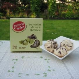 Cardamom & Dark Chocolate Meringues - Small Box (10g)
