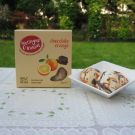 Chocolate Orange Meringues - Small Box (10g)