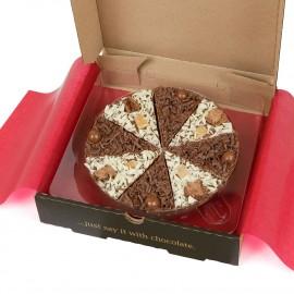 Double Delight Chocolate Pizza