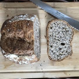 4 Gluten Free Artisan Sourdough Nearly Rye Loaves