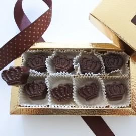 signature crown chocolate Lavinia Wilsons Chocolates