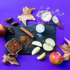Apple Pie Good-For-You Dessert Bar