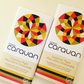 Vegan Coconut Mylk Raw Chocolate Bars (5 bars)