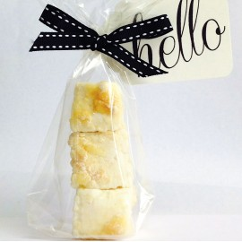 Lemon Meringue Marshmallow Favours