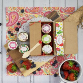 Gourmet Strawberry Jam Taster Box