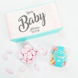 Personalised 'Baby Girl' Baby Shower or Christening Gift. Gluten-free & Vegan