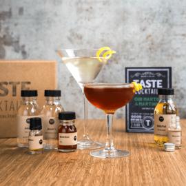 The TASTE cocktails Gin Martini/Martinez Box