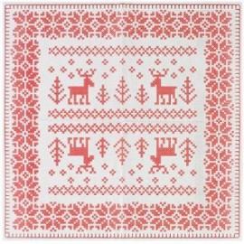 scandinavian christmas napkins