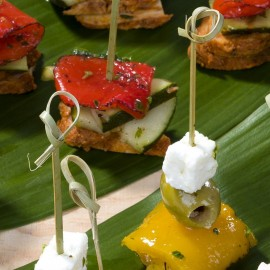 Wooden Party Food Picks