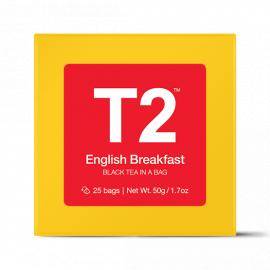 English Breakfast Teabag Gift Cube