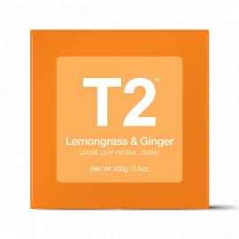 Lemongrass and Ginger Loose Leaf Gift Cube