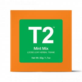 Mint Mix Loose Leaf Herbal Tisane Gift Cube