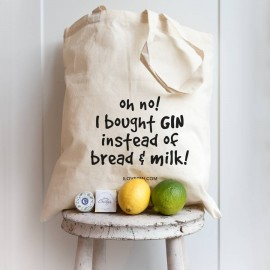 Gin Lovers Shopping Bag - Oh No I've Bought Gin Again