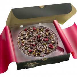"7"" Decadent Dark Chocolate Pizza"