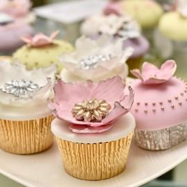 Gilded Bloom Cupcake Course Voucher (Leamington Spa)