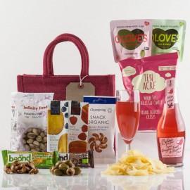 Vegetarian Treat Gift Bag - Luxury Veggie Food Treats from Natures Hampers