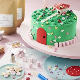 The Enchanted Fairy Garden Cake Kit