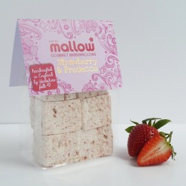 Strawberry & Prosecco Marshmallows