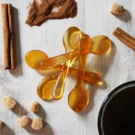 Cinnamon Sugar Syrup Spoons