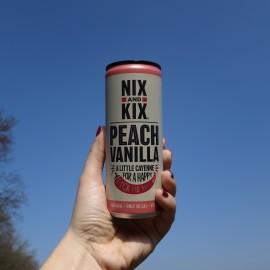 Peach & Vanilla 250ml Can
