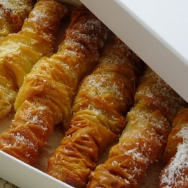 Coconut Cream Baklava
