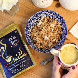 Vanilla Turmeric Latte 200g Pouch (Dairy Free / Vegan / Instant)