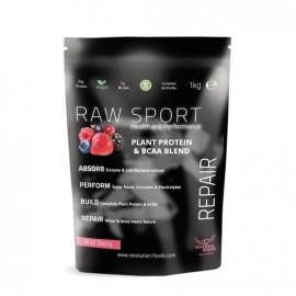 Raw Sport Plant Protein & BCAA Blend - Wild Berry Flavour