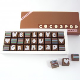 Personalised Chocolates for Grandad or Grandpa