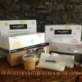 Honeycomb Crunch Ice Cream Kit