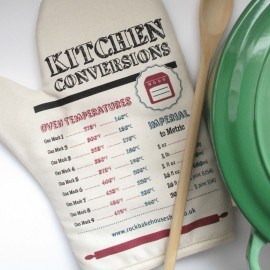 Kitchen Conversion Chart Oven Mitt