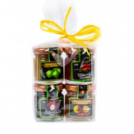 Set of 4 Cheese Accompaniments