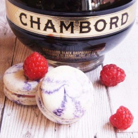 Box of Chambord Macarons