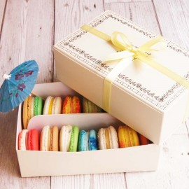 Alcoholic Cocktail Macarons Box of 14