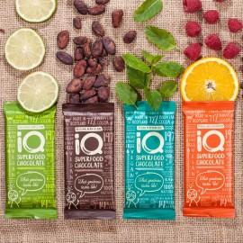 iQ Superfood Chocolate - 6 bar selection