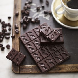 Dark Coffee Bean Chocolate 70% (3 bars)