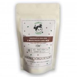 Chocolate & Chia Seed - 3 ways Paleo Cake Mix