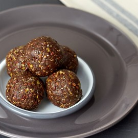 Chocolate Bomb Energy Balls