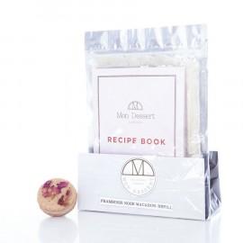Mini Kit Raspberry Rose Macarons