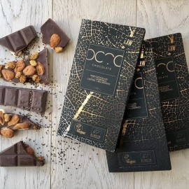 Craft Dairy Free Raw Chocolate Bars - Choose Your Own Selection ( 3 bars)