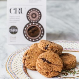 Raw Gluten-Free Chocolate Chip Cookies