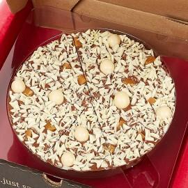 Salted Caramel Chocolate Pizza