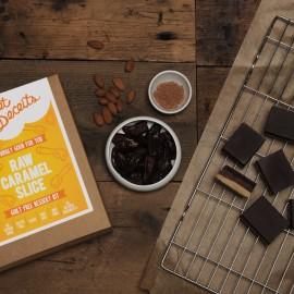 Sweet Deceits Raw Caramel Slice