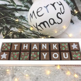Cocoapod Christmas thank you chocolate